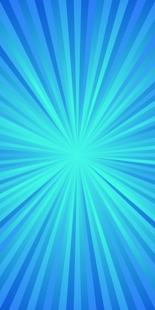 Blue Dynamic Ray Burst Background Abstract Gradient Vector