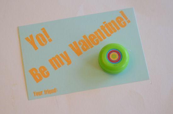 Yo-Yo! Be my Valentine!