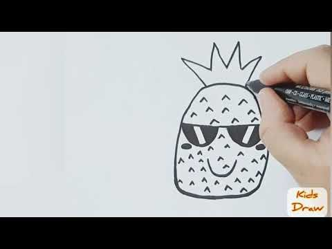 رسم فواكه كيوت للاطفال بخطوات بسيطة How To Draw Cute Fruits Easy And Simple Youtube Cartoon Drawings Drawing For Kids Drawings