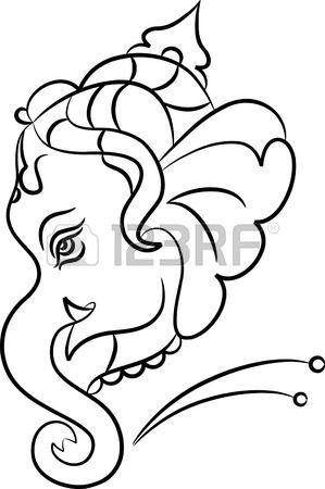 Ganesha The Lord Of Wisdom Vector Art Stock Vector