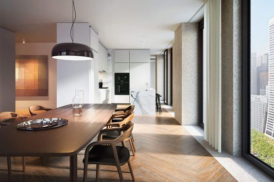 Great british architect david chipperfield has revealed more details of uthe bryant u a new residential tower to be built in central manhattan situated u