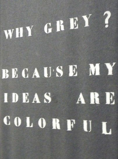 :: QUOTES :: i want this on a t-shirt =) if it ain't white or black .... always timeless gray #quotes