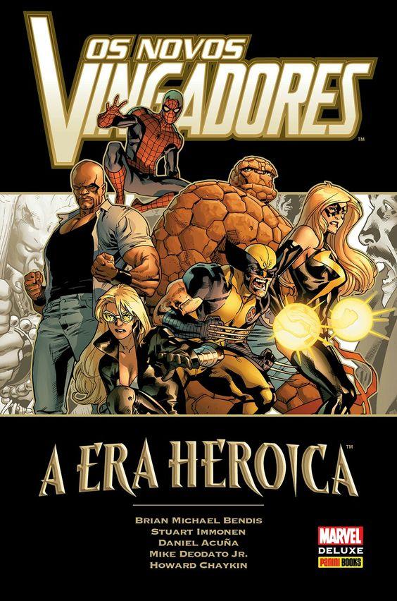 Os Novos Vingadores: A Era Heróica - Marvel Deluxe - MonsterBrain