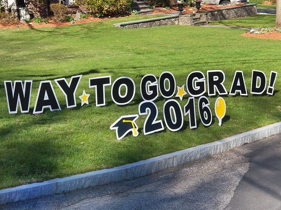 My Yard Card | Graduation Lawn Sign