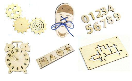 Tablica Sensoryczna Tablica Manipulacyjna 7752764923 Oficjalne Archiwum Allegro Place Card Holders Card Holder Place Cards