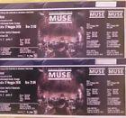#Ticket  2 Biglietti vicini Concerto Muse Milano 17/05 sett. C31 fila 2 posti 4 e 5 #italia