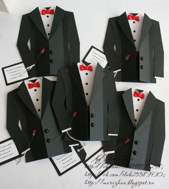 tuxedo cards- template @ http://goldenhands.me/wp-content/uploads ...