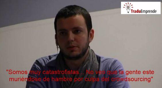 """Ponencias #Traduemprende – Juan Yborra Golpe: """"El crowdsourcing en la traducción: ¿alternativa o estafa?"""": http://leonhunter.com/blog/?p=3809"""