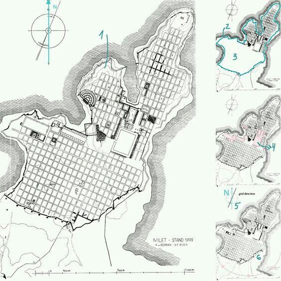 Esta es la ciudad de Mileto.