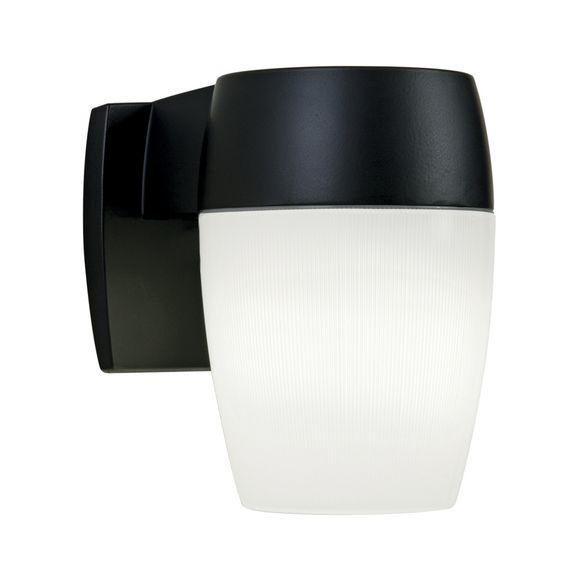 Shop Utilitech 26-Watt Black Fluorescent Dusk-To-Dawn