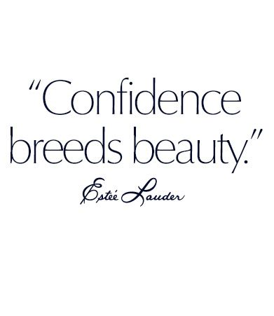 Beauty quote of the day: Confidence breeds beauty
