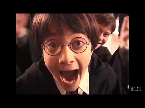 Funny And Cute Bloopers Of Harry Potter Series Part 1 Behind The Scenes Youtube Harry Potter Curses Harry Potter Scene Daniel Radcliffe Harry Potter