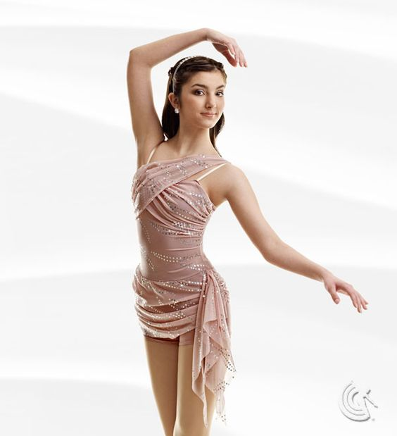 Curtain Call Costumes® - Sentimental Dusty rosy nylon/spandex boy ...