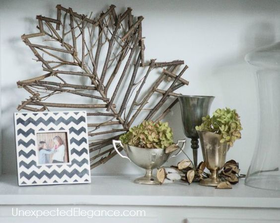 Get a peek into my home decorated for fall! Get some inspiration and ideas for inexpensive fall decor.: