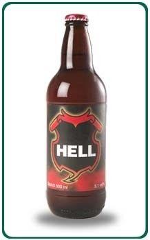 Cerveja Hell, estilo Premium American Lager, produzida por Jämtlands Bryggeri , Suécia. 5.1% ABV de álcool.