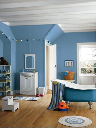 Blue cruise sw 7606 sherwin williams pinterest for Southwest bathroom paint colors