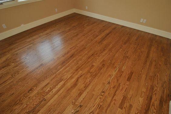 Red oak floor stain colors red oak stain nutmeg all for Oak floor colors