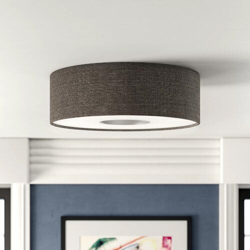 Led Deckenleuchte 1 Flammig Hardrick Brayden Studio Farbe Braun Grosse 10 Cm H X 35 Cm B X 35 Led Flush Mount Led Lights Semi Flush Ceiling Lights