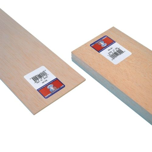 Midwest Products Balsa Wood Strip Sheet 1 8 X 4 X 36 15pc Bundle Wood Strips Craft Sale Wood Crafts