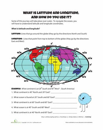 Printables Longitude And Latitude Practice Worksheets boys social studies and esl on pinterest worksheets latitude longitude goes along with teaching directions also want to start