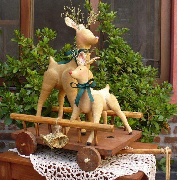 navidad renos