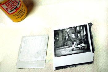 PLAY TIME! Nitsa Malik Polaroid image transfer