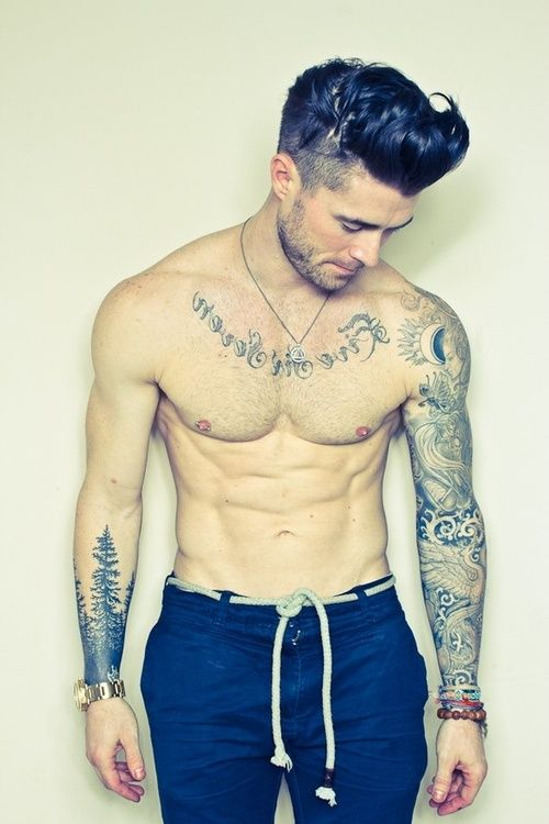 Guy models with tattoos male models with tattoos tumblr for Guys tattoos tumblr