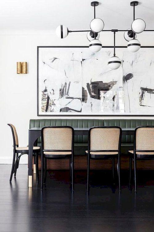Woven Cane Rattan Furniture The Seasonal Edit Spring 2019 The Savvy Heart Modern Dining Room Black Dining Room Dining Room Lighting
