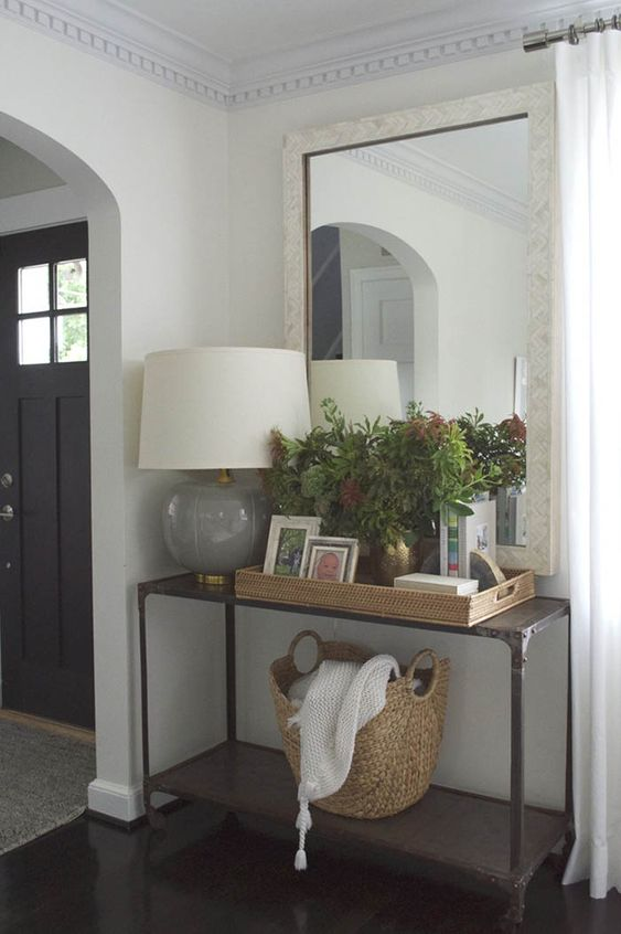 Foyer Room Jobs : Simple entry console styling foyers entryways
