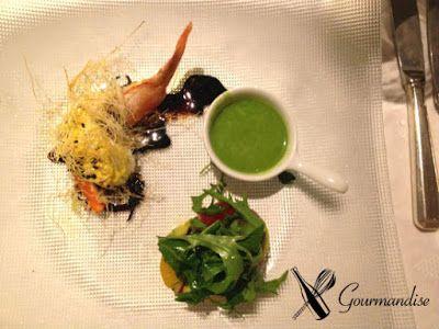 shrimp at St. Tropez