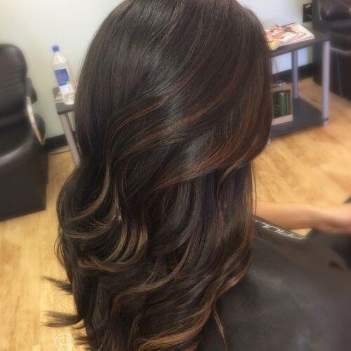 Subtle Highlights For Dark Brown Hair Highlights For Dark Brown Hair Brown Hair With Blonde Highlights Dark Brown Hair