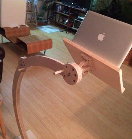 custom laptop/ipad stand for bed