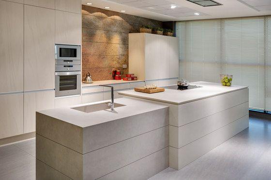 Kitchen | Fusion Pietra di Luna, Arena, Basalt Grey & Iron Blue de Neolith…