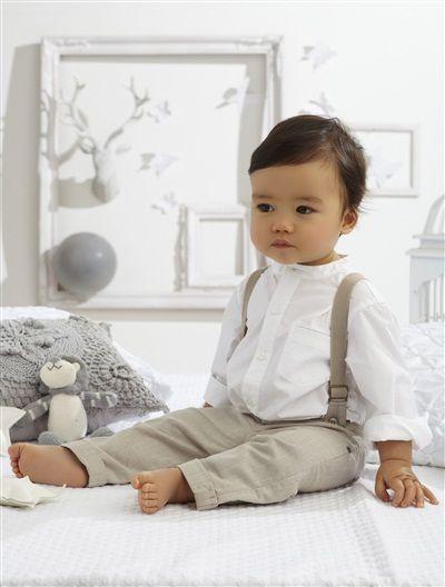 Ensemble 2 pièces bébé garçon BLANC - vertbaudet enfant