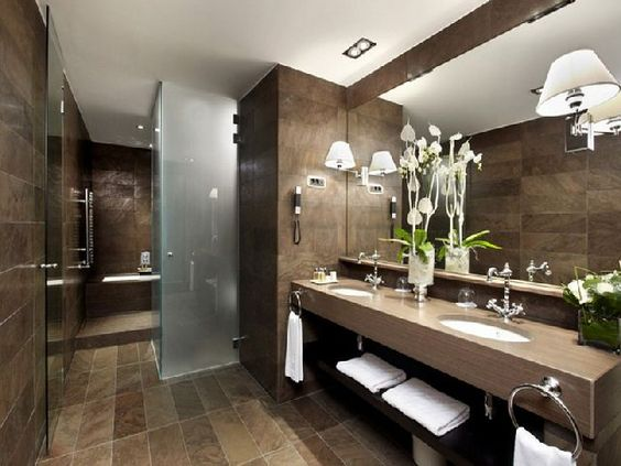 photos salle de bain des hotels de luxe page 2 salle de. Black Bedroom Furniture Sets. Home Design Ideas
