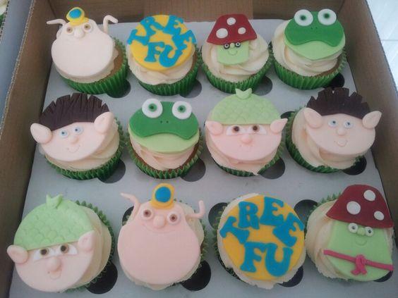 Tree Fu Tom cupcakes