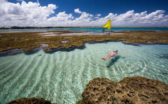 9 piscinas naturais imperdíveis no Brasil :: Jacytan Melo Passagens