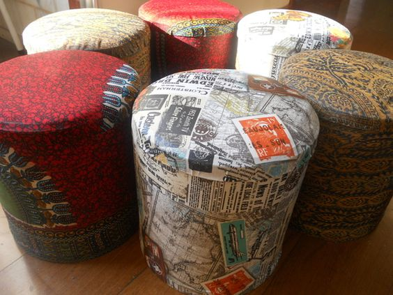 puffe/potes decoupage