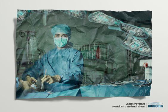 Acadomia: Crumpled Paper Surgeon