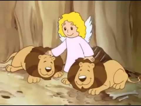 Historinhas Biblicas Daniel Na Cova Dos Leoes Youtube Biblia