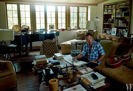 HOMESTEAD  Springsteen at his horse farm in Colts Neck, New Jersey.