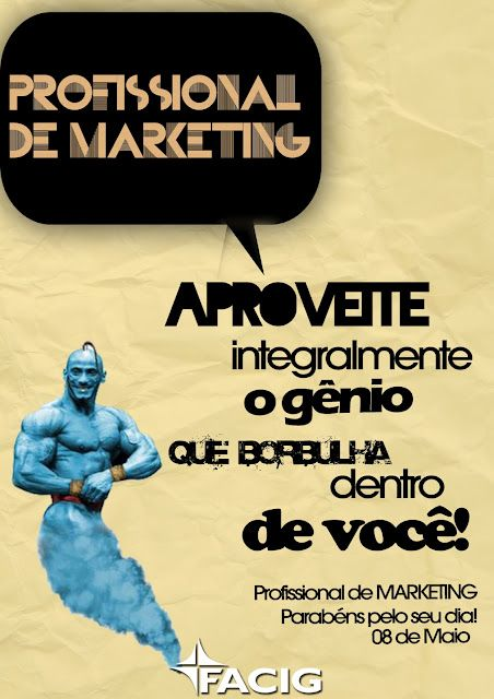 Parabéns Profissional de Marketing