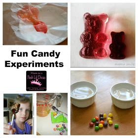 Mom to 2 Posh Lil Divas: 35+ Candy Experiments, Learning Activities, Crafts, Recipes and More!