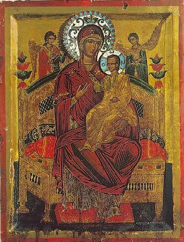 "Icon of the Mother of God ""Panagia Pantanassa"""