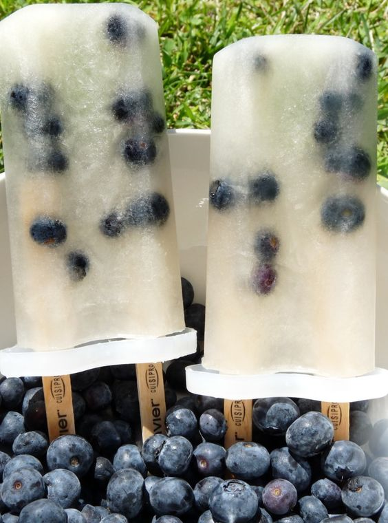 lime and blueberry popsicles | Food | Pinterest | Blueberry Popsicles ...