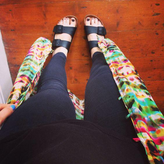 Arizona birkinstocks with black Joni jeans until summer is here ✌️