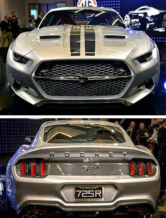 Mustang Rocket.  #RePin by AT Social Media Marketing - Pinterest Marketing Specialists ATSocialMedia.co.uk