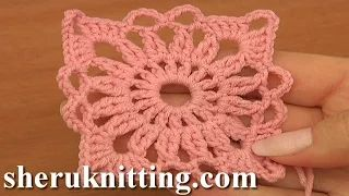How to Join Octagon Motifs Tutorial 6 Part 1 of 2 - YouTube