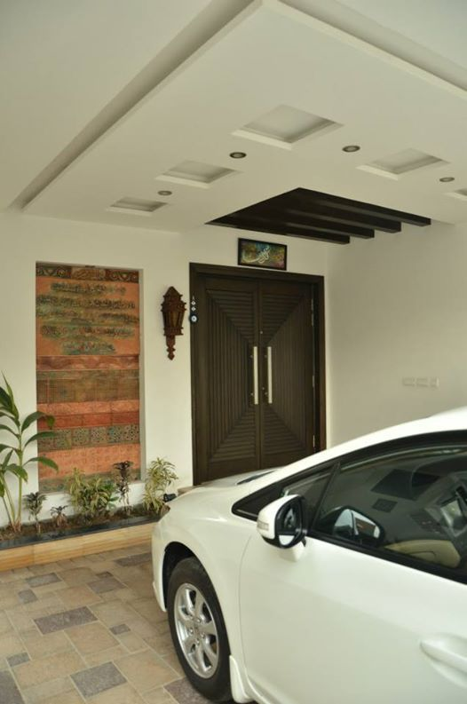 Modern House Design House Ceiling Design Porch Wall Design