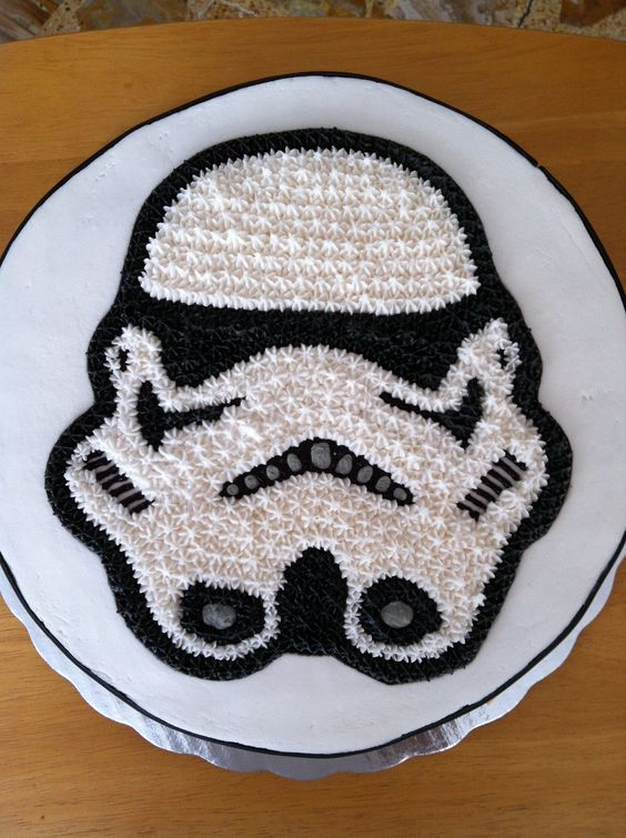 Stormtrooper Cake Lo 250 Ltimo Pinterest Cakes